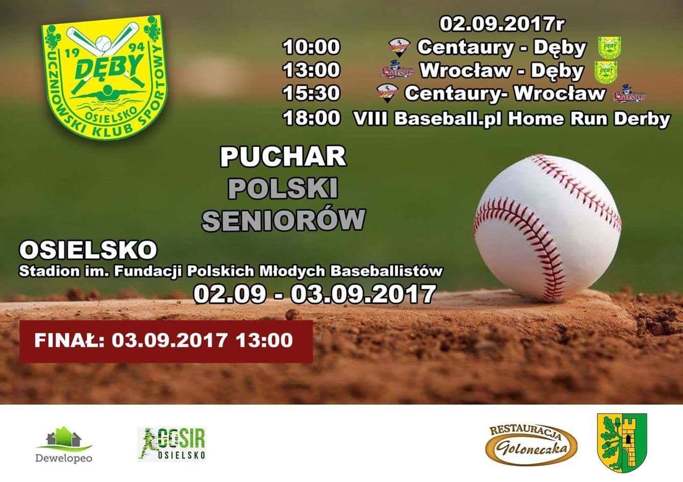 Puchar Polski Seniorów w Baseballu w Osielsku